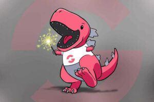 Groove Mascot Groovezilla